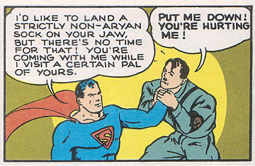 Superman vs. Hitler